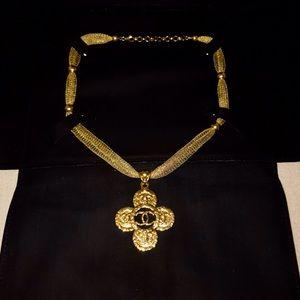 CHANEL Jewelry - ☀️Authentic☀️ CHANEL CC Maltese Cross Pendant